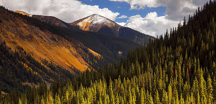 Beautiful Red Mountain by Tim Reaves