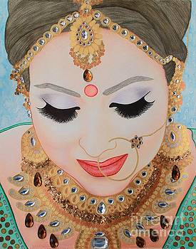 Beautiful Sikh Bride by Malinda Prudhomme