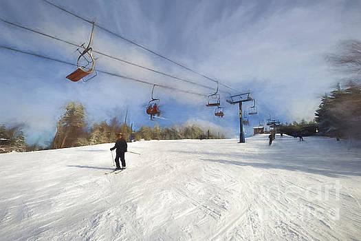 Dan Friend - Beautiful ski day