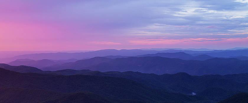 Beautiful Smoky Mountains Sunset by Carol Mellema