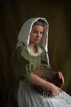 Beautiful Tudor Maid Servant Portrait by Lee Avison