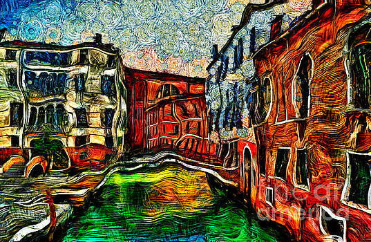 Beautiful Venice Italy by Milan Karadzic