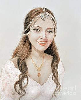 Beautiful Vietnamese Bride  by Jim Fitzpatrick