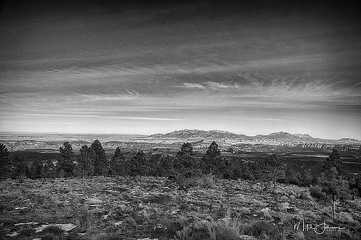 Beautiful View BW by Mitch Johanson