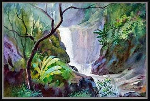 Beautiful waterfall by Milind Shimpi