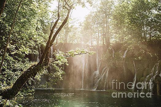 Beautiful waterfalls by Viktor Pravdica