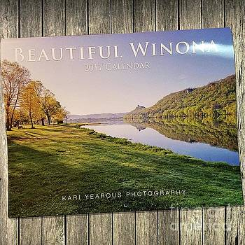 Beautiful Winona Minnesota 2017 Calendar Informational Listing by Kari Yearous