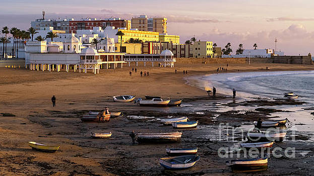 Beautiful Winter Day at La Caleta Beach Cadiz Spain by Pablo Avanzini