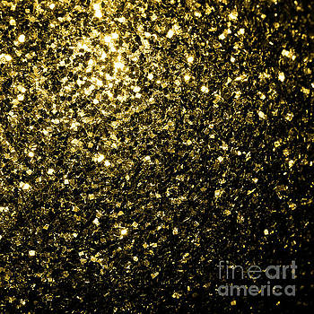 Beautiful Yellow Gold sparkles by PLdesign