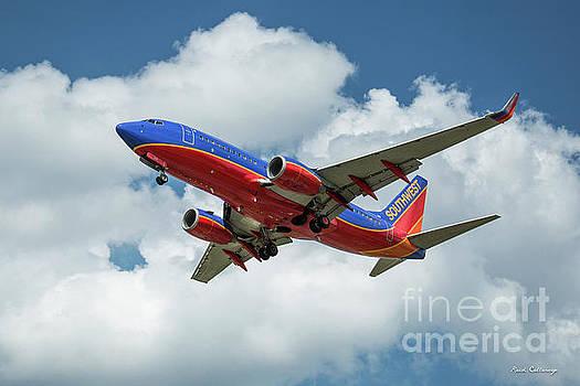 Reid Callaway - Beauty In Flight 2 Southwest Jet N292WN Art