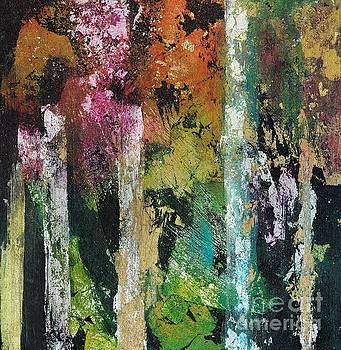 Beauty in the Abstract Forest by Frances Marino