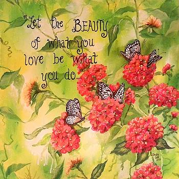 Beauty Is... by Sandra Lett