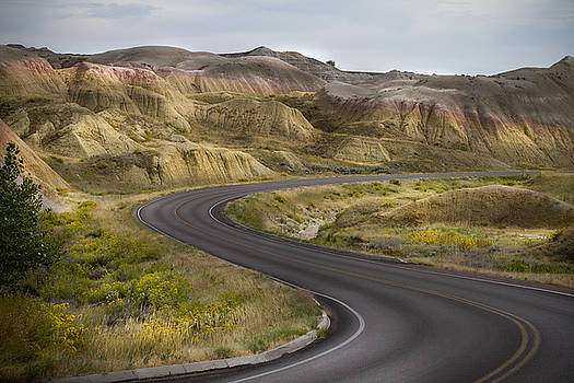Beauty of the Badlands South Dakota by John Hix