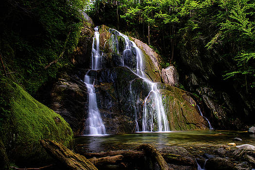 Beauty of the Waterfall by Sherman Perry