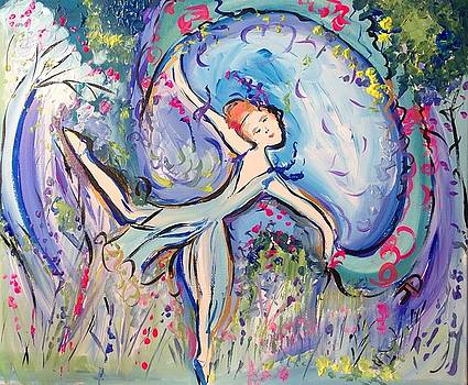 Beauty unveiled ballet  by Judith Desrosiers