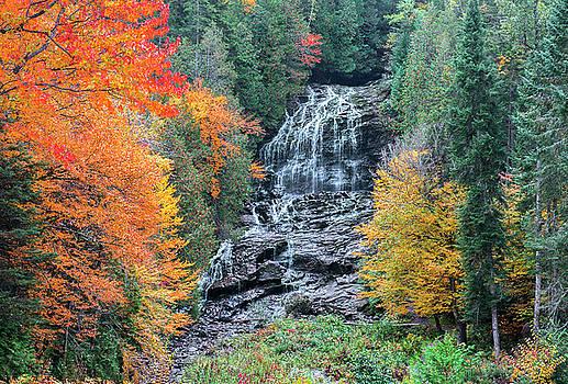 Beaver Brook Falls by Gordon Ripley