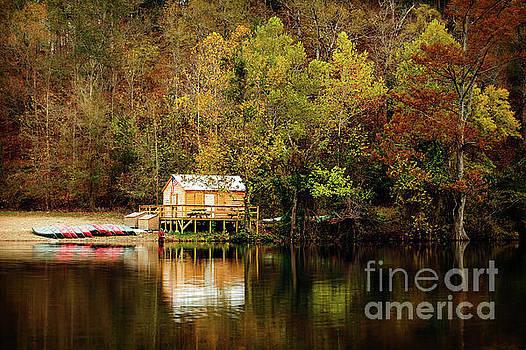 Beaver's Bend Canoe Hut by Tamyra Ayles