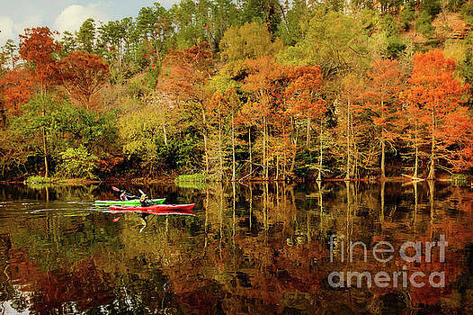 Beaver's Bend Canoeing by Tamyra Ayles