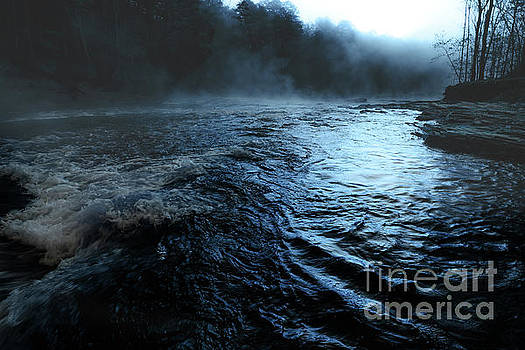 Beaver's Bend Fog by Tamyra Ayles