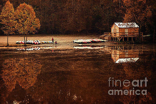 Beaver's Bend Quiet Morning by Tamyra Ayles