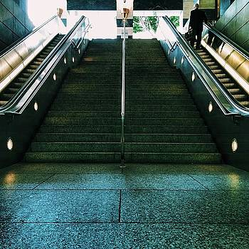 Because Escalators And Stairs With by Sean Kalimi
