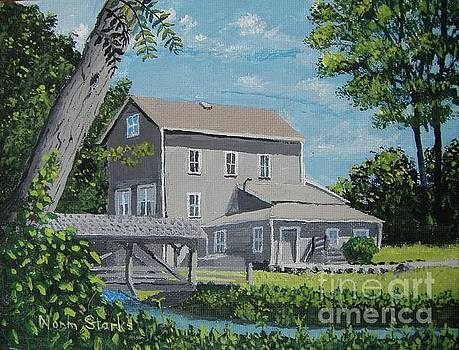 Beckman Mill Landscape by Norm Starks