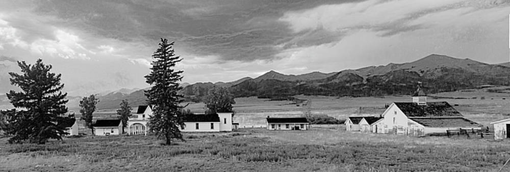 Beckwith Ranch BW Pano by Peter J Sucy