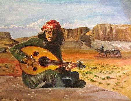 Bedouin Song  by Maria Milazzo