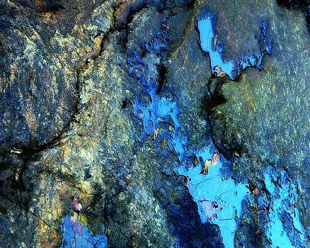 Bedrock Stream Abstract by Kathy Barney