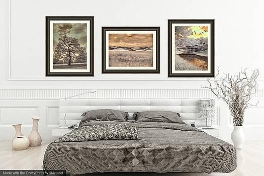 Bedroom Home Decor by Jane Linders