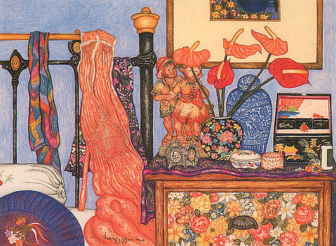 Richard Lee - Bedroom with Pink Nightie