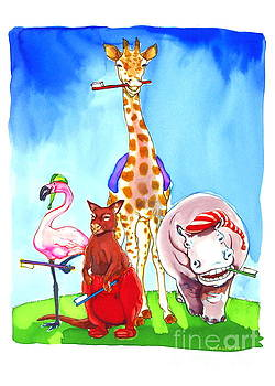 Bedtime Animals by Jill Iversen
