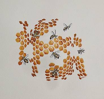 Bee Hive # 2 by Katherine Young-Beck