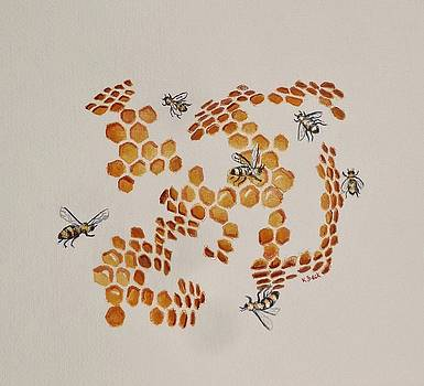 Bee Hive # 3 by Katherine Young-Beck