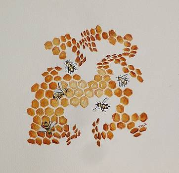 Bee Hive # 5 by Katherine Young-Beck