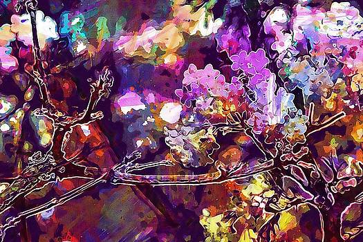 Bee Insect Tree Flowers Spring  by PixBreak Art