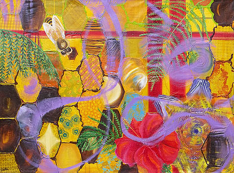 Anne Cameron Cutri - Beehive Oil painting
