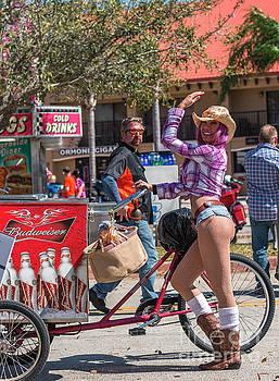 Beer Girl Destination Daytona by Edie Ann Mendenhall