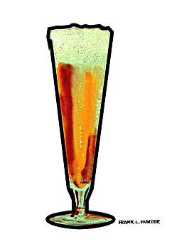 Beer Glass by Frank Hunter