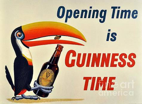 Beer Poster - Guinness by Roberto Prusso