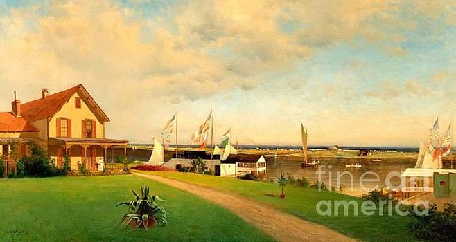 Peter Gumaer Ogden - Beers Cottage Far Rockaway 1885