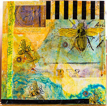 Bees in Need #6 by Carmen Williams