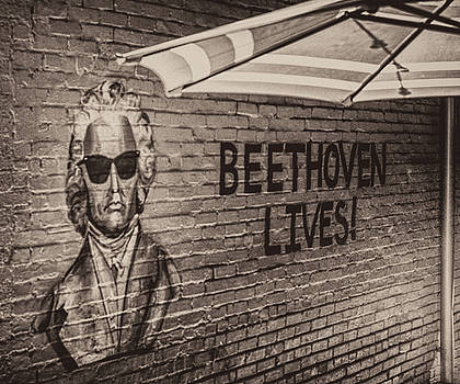 Beethoven Lives 2 by Steven Greenbaum