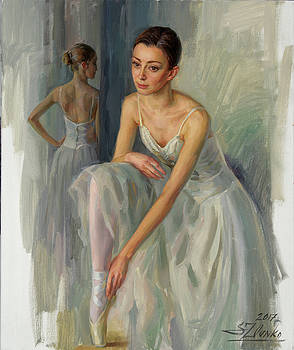 Before a Rehearsal by Serguei Zlenko