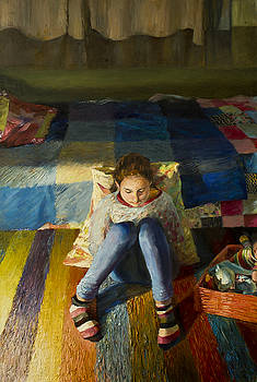 Before bedtime. by Misha Lapitskiy