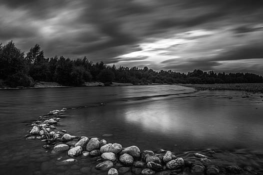 Before the rain by Davorin Mance