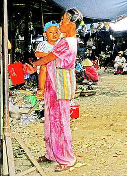 Beggar At Duc Phuong Market, Ho Chi Minh City by Rich Walter