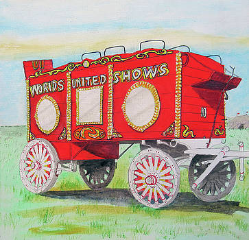 Beggs Ticket Wagon by Gordon Wendling