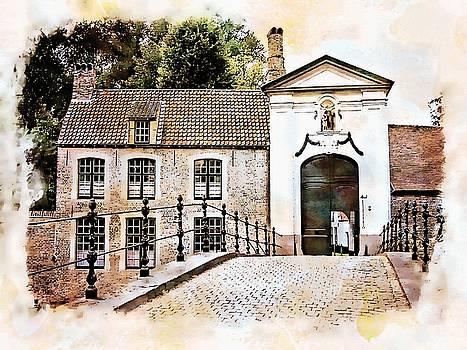 Begijnhof Monastery - Bruges, Belgium by Joseph Hendrix