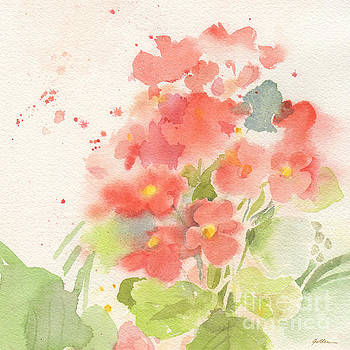 Begonia Whispers by Sheila Golden